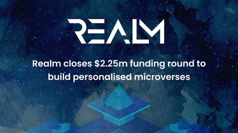 Realm Closes $2.25M for Seed Investment to Build NFT Powered Microverses