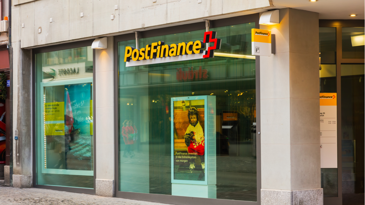 State-Owned Swiss Bank Postfinance Launches App Supporting 13 Cryptocurrencies