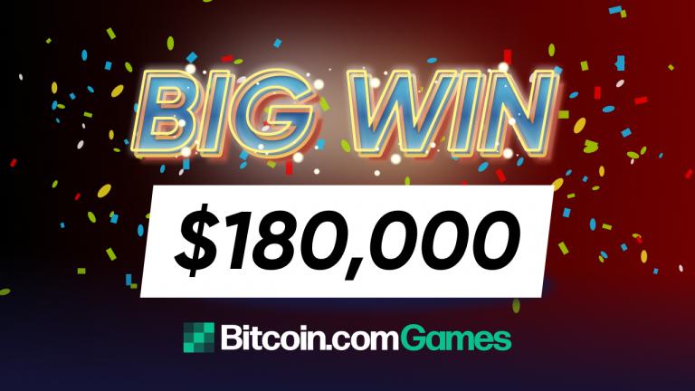 Bitcoin.com Games Player Gets Lucky Big Time, Wins 5 BTC on Popular Online Slot