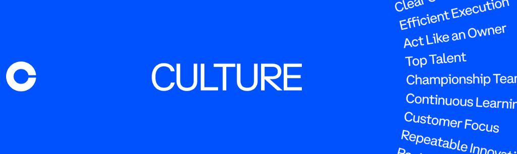 Culture at Coinbase