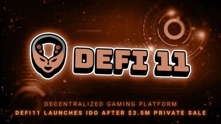 Decentralized Gaming Platform DeFi11 Eyes Expansion After $3.5M Raise