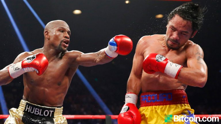 Floyd Mayweather Gets Booed at Bitcoin Event for Saying 'Another Crypto Will Be Just as Big as BTC'