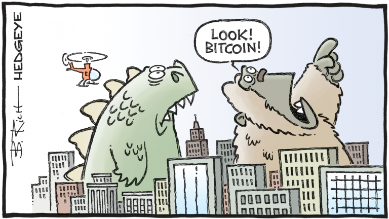 Hedgeye: This Model Predicts Bitcoin at $1,000,000