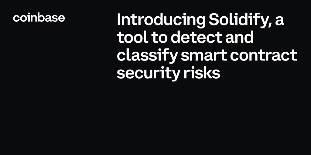 Introducing Solidify—a tool to automatically detect and classify smart contract security risks