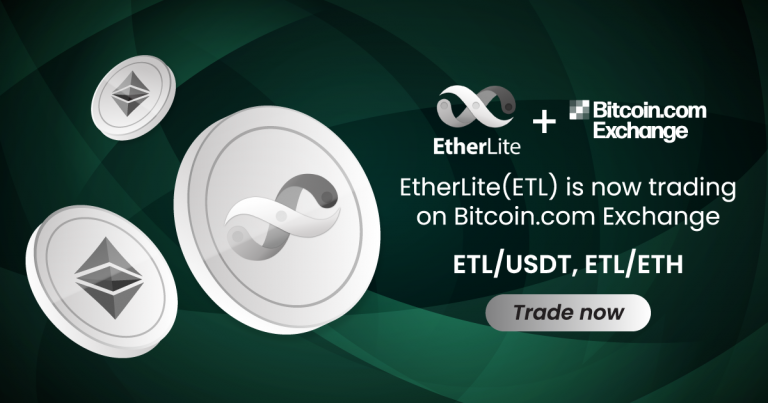 EtherLite (ETL) Token Is Now Listed on Bitcoin.com Exchange