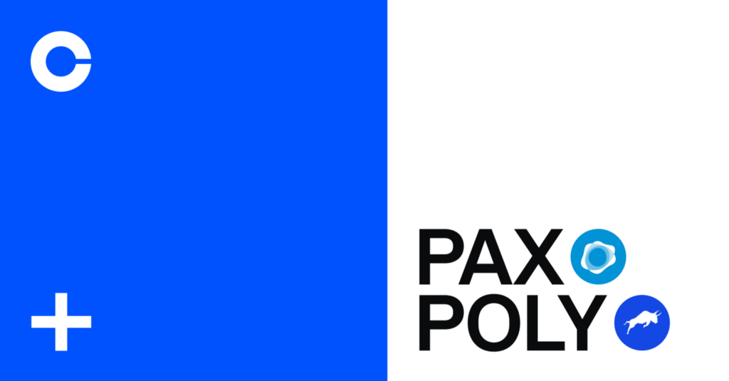 Paxos Standard (PAX) and Polymatch Network (POLY) are now available on Coinbase