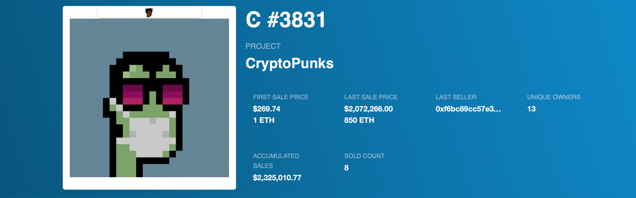 Cryptopunk Owner Hopes to Sell Punk for $91 Million — Pixelated NFT Punks Outshine the Competition