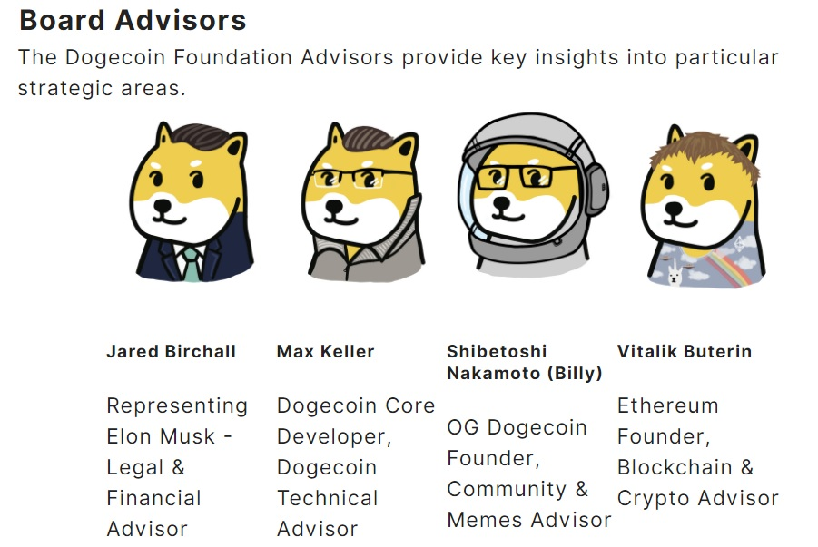Dogecoin Foundation Is Back With Elon Musk's Adviser and Ethereum's Vitalik Buterin