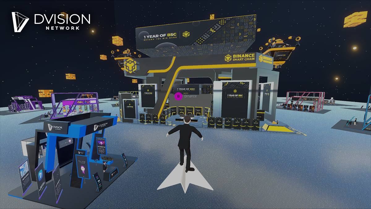 Dvision Hosts Metaverse Conference for BSC's Anniversary