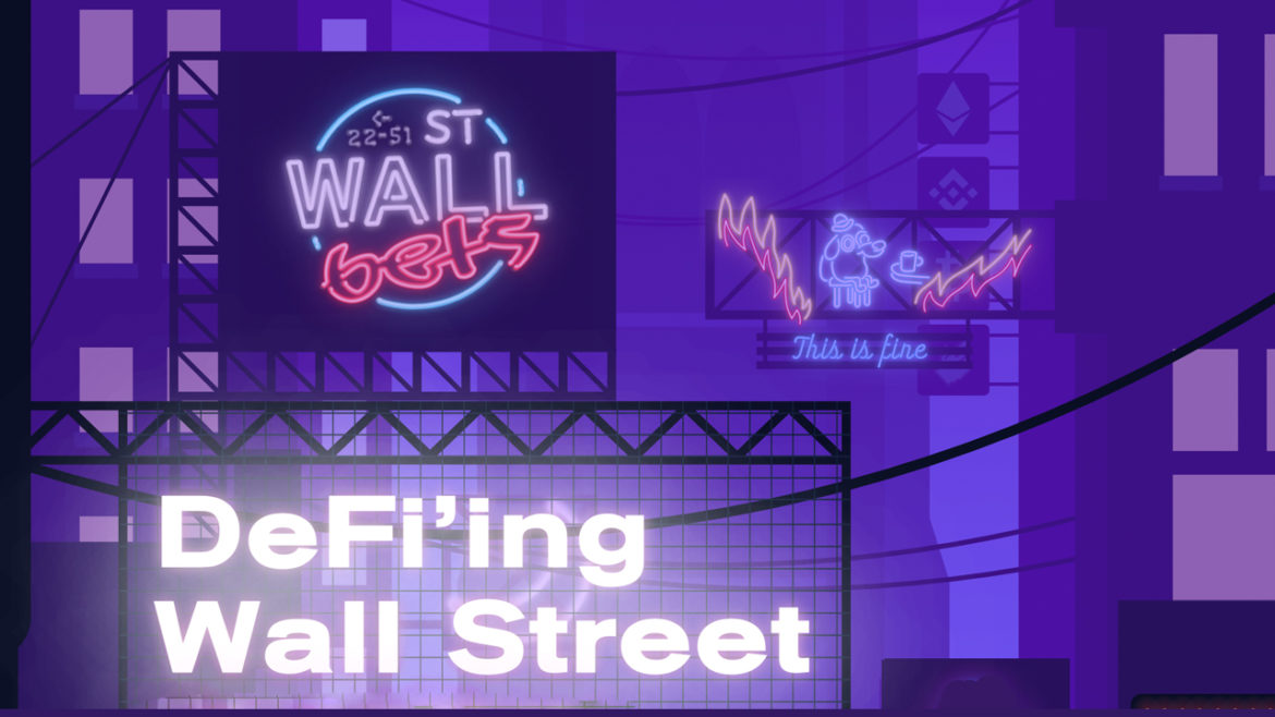 Newly Launched Wallstreetbets Defi App Aims to 'Take Over Traditional Financial Markets'