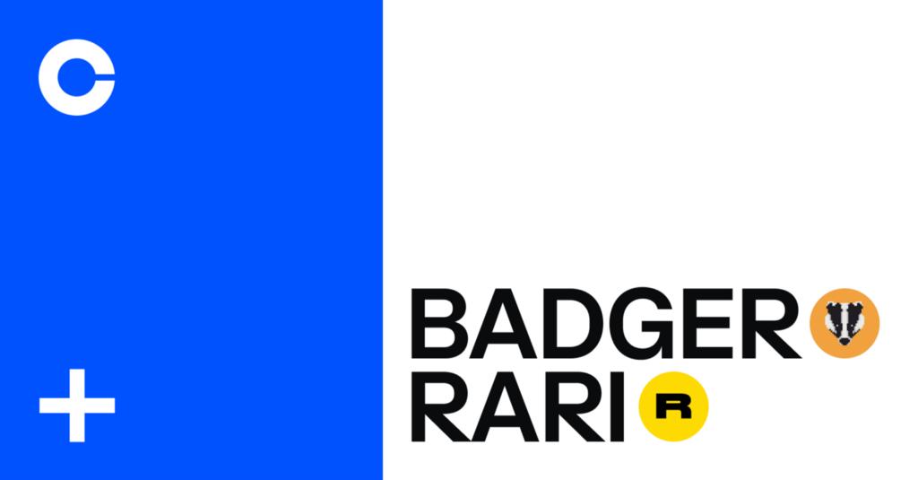 BadgerDAO (BADGER) and Rarible (RARI) are now available on Coinbase