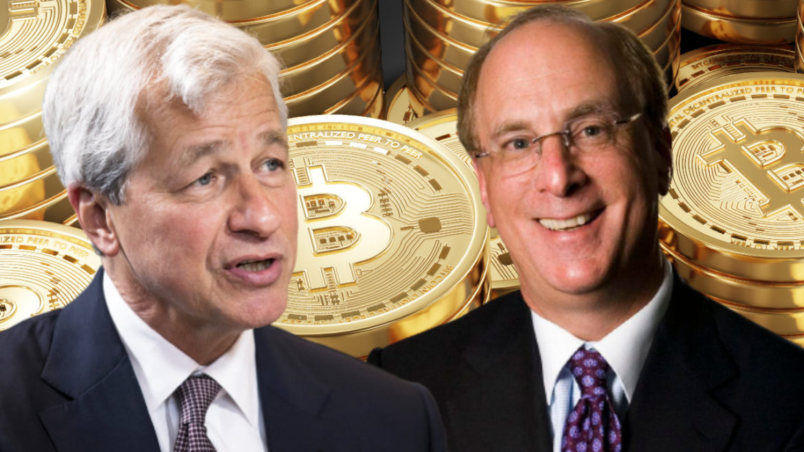 Blackrock CEO Agrees With JPMorgan Boss Jamie Dimon About Bitcoin, Sees 'Huge Role for Digitized Currency'