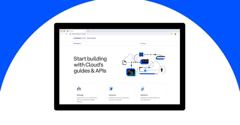 Coinbase Cloud introduces unified developer docs