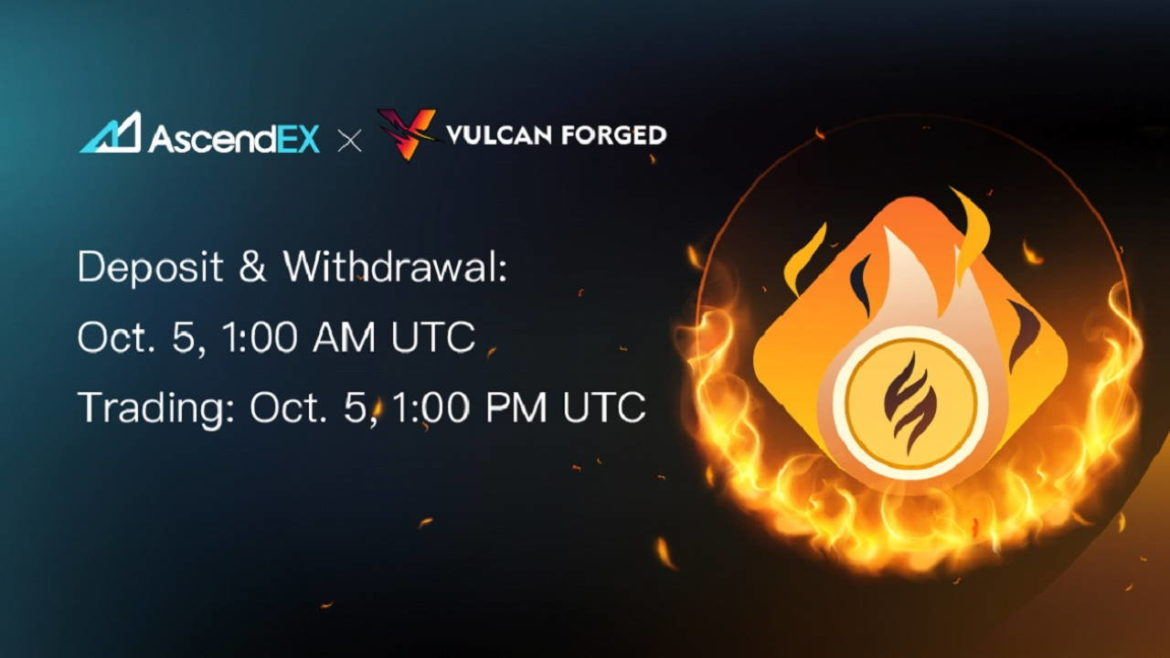 Vulcan Forged Lists on AscendEX